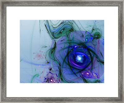 Agasti Lakshmi Stotra Framed Print by Jeff Iverson