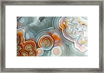 Agate 4 Micro Framed Print