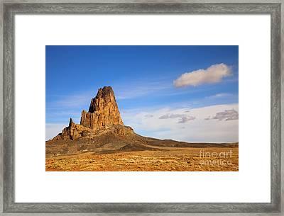 Agathia Peak Framed Print by Mike  Dawson