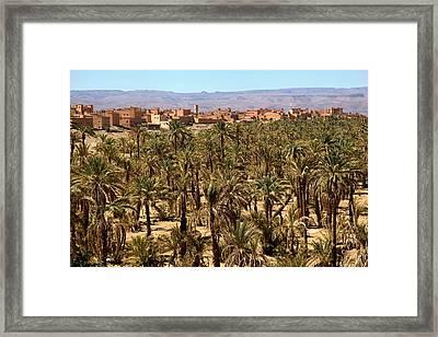 Agdz Morocco Framed Print