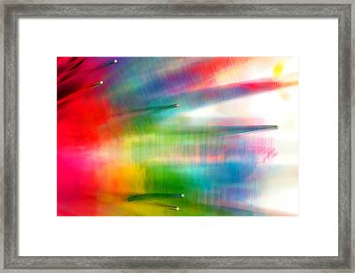 Framed Print featuring the photograph Age Of Aquarius by Dazzle Zazz