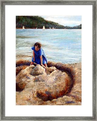 Age Of Innocence Framed Print by Mary Giacomini