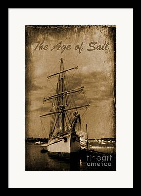 Shils In Harbour Framed Prints