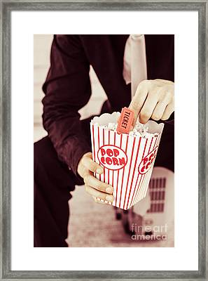 Age Of The Classic Movie Framed Print