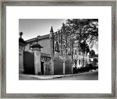 Aged Carraige House Framed Print by Andrew Crispi