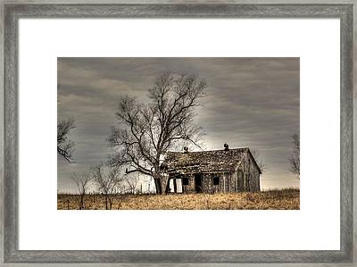 Aged Framed Print by Thomas Danilovich
