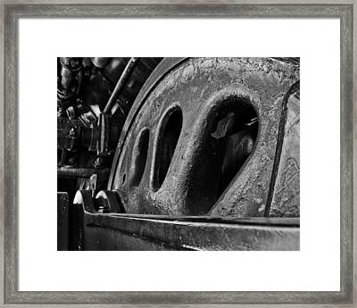 Aged  With Grace Framed Print by Mike Kidwell