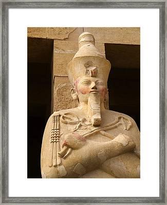 Ageless Egyptian Queen Framed Print by Brenda Kean
