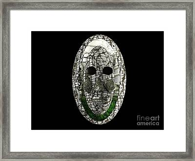 Framed Print featuring the digital art Ageless Spirit by Jacqueline Lloyd