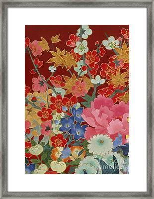 Agemaki Crop I Framed Print