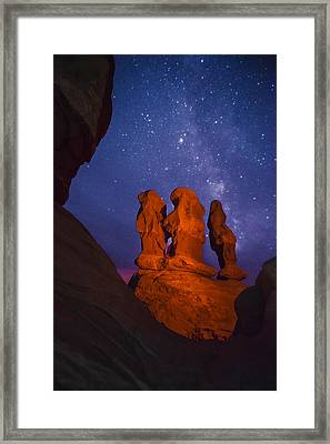 Agents Of Atlantis Framed Print