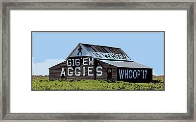 Aggie Barn II Framed Print