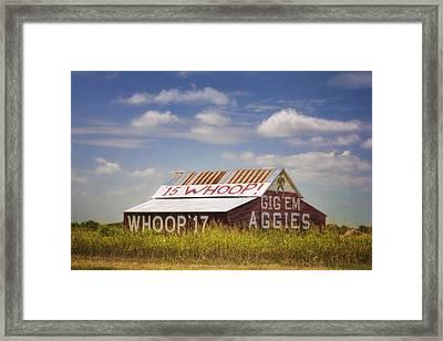 Aggie Barn IIi Framed Print