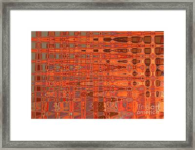 Aging Gracefully - Abstract Art Framed Print by Carol Groenen