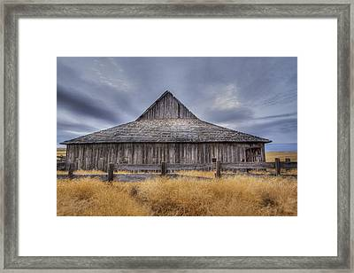 Aging Gracefully In Wasco County Framed Print