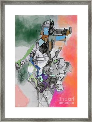 Self-renewal 10e Framed Print by David Baruch Wolk