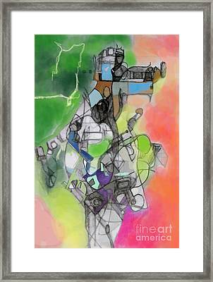 Self-renwal 10g Framed Print