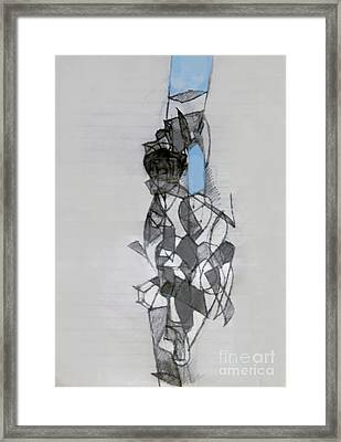 Self-renewal 11a Framed Print by David Baruch Wolk