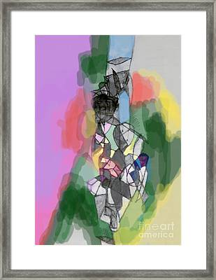 Self-renewal 11b Framed Print by David Baruch Wolk