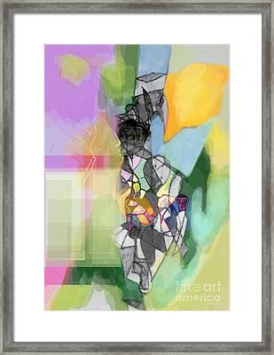 Self-renewal 11c Framed Print by David Baruch Wolk
