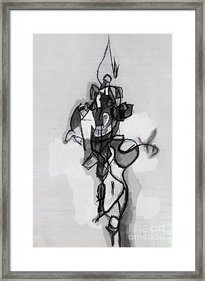 Self-renewal 12b Framed Print by David Baruch Wolk