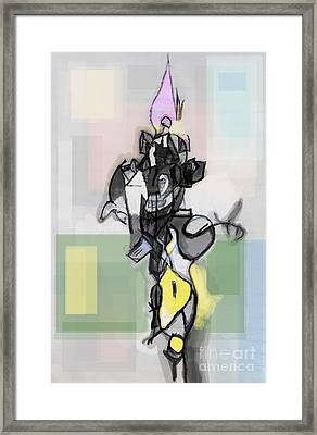 Self-renewal 12d Framed Print by David Baruch Wolk