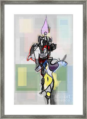 Self-renewal 12e Framed Print by David Baruch Wolk
