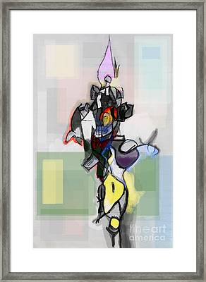 Self-renewal 12g Framed Print by David Baruch Wolk