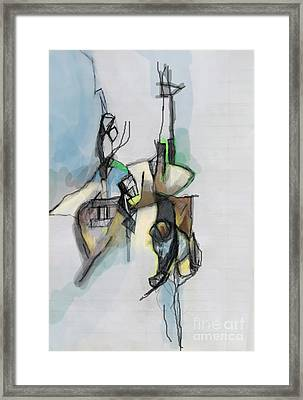 Self-renewal 13e Framed Print by David Baruch Wolk
