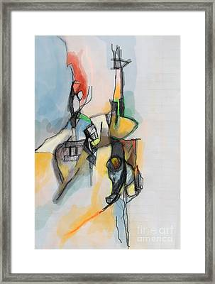 Self-renewal 13h Framed Print by David Baruch Wolk