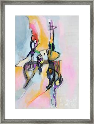 Self-renewal 13i Framed Print by David Baruch Wolk