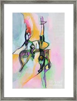 Self-renewal 13j Framed Print by David Baruch Wolk