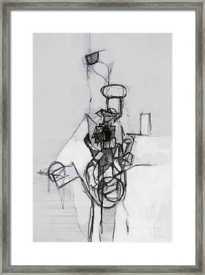 Self-renewal 14b Framed Print by David Baruch Wolk