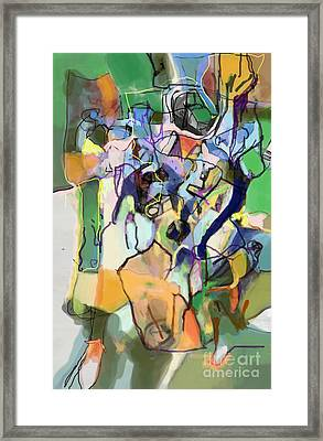 Self-renewal 15i Framed Print by David Baruch Wolk