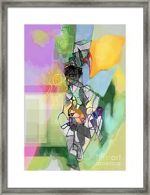 Self-renewal 11cf Framed Print by David Baruch Wolk