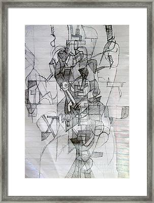 Self-renewal 7 Framed Print