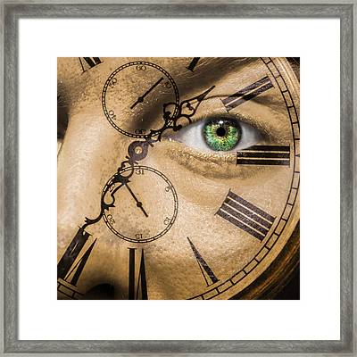 Aging Framed Print by Semmick Photo