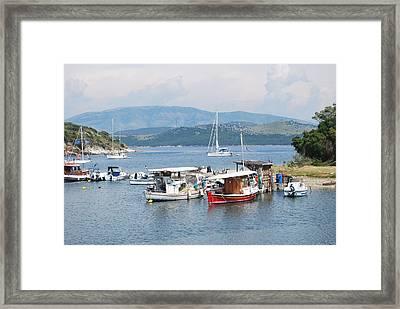 Agios Stefanos Framed Print