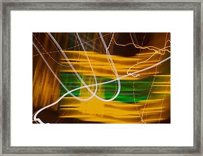 Agitation Framed Print by Douglas Barnett