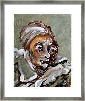 Agnes Framed Print by Michelle Dommer