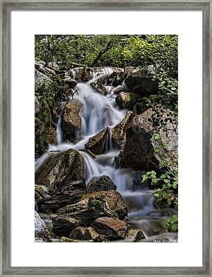 Agnes Vaille Creek Framed Print