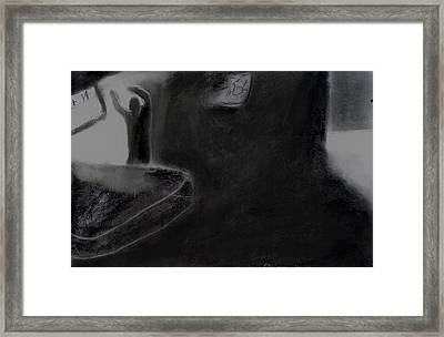 Agony Of The Outside World 2 Framed Print by Paulo Guimaraes