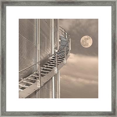 Agri Moon Framed Print