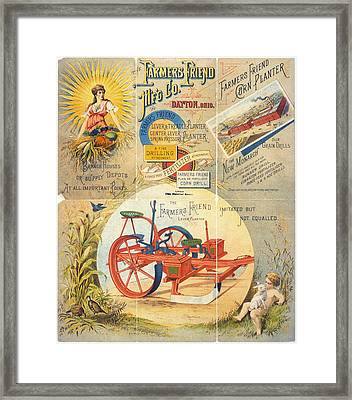 Agricultural Machinery Framed Print