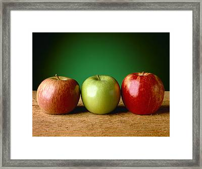 Agriculture - Produce, Fuji, Granny Framed Print