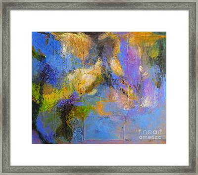 Agua Framed Print by Melody Cleary