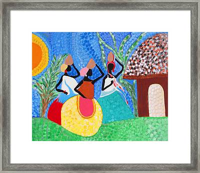 Aguadeiras Framed Print by Fatima Neumann