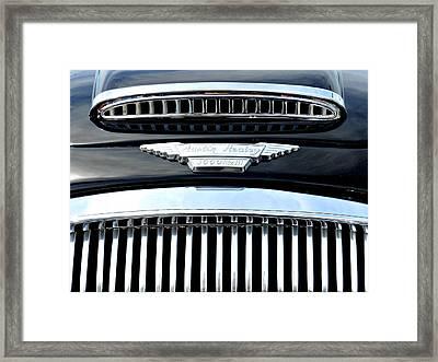 Ah 3000 Detail 001 Framed Print