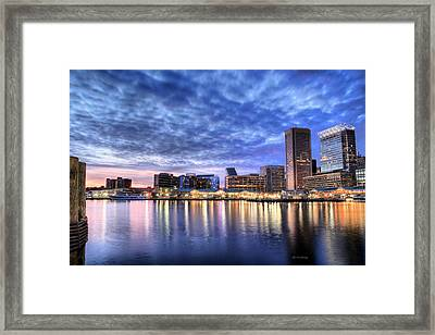Ah Baltimore Framed Print by JC Findley
