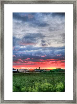 Ah Kansas Framed Print by JC Findley